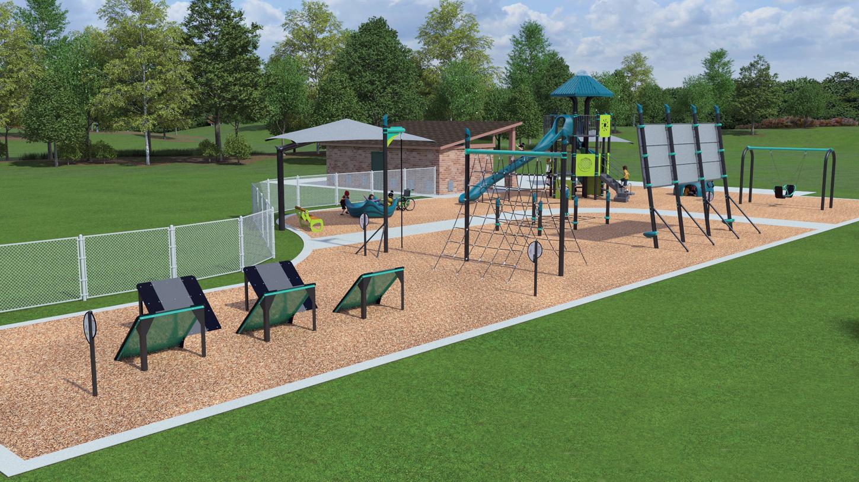 Future amenities in Castle Hills