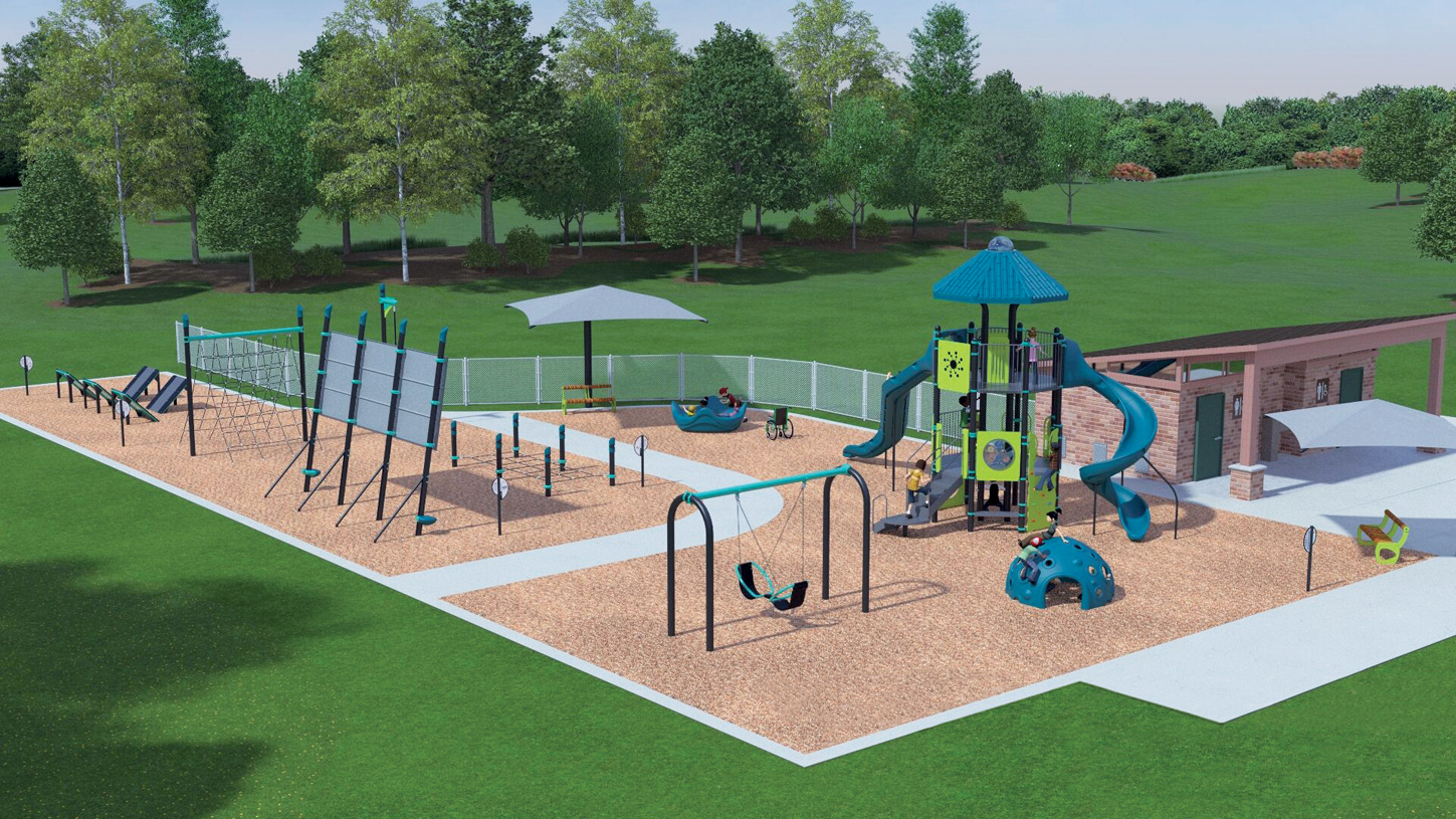 Future playground and rest area