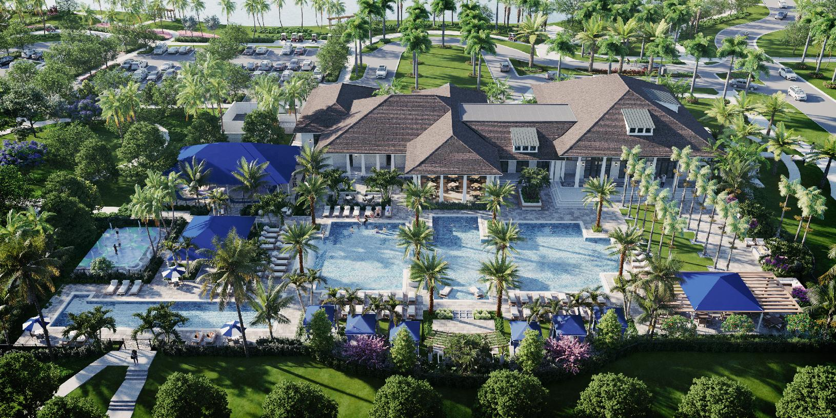 Residents will enjoy Avenir's future resort-style amenities