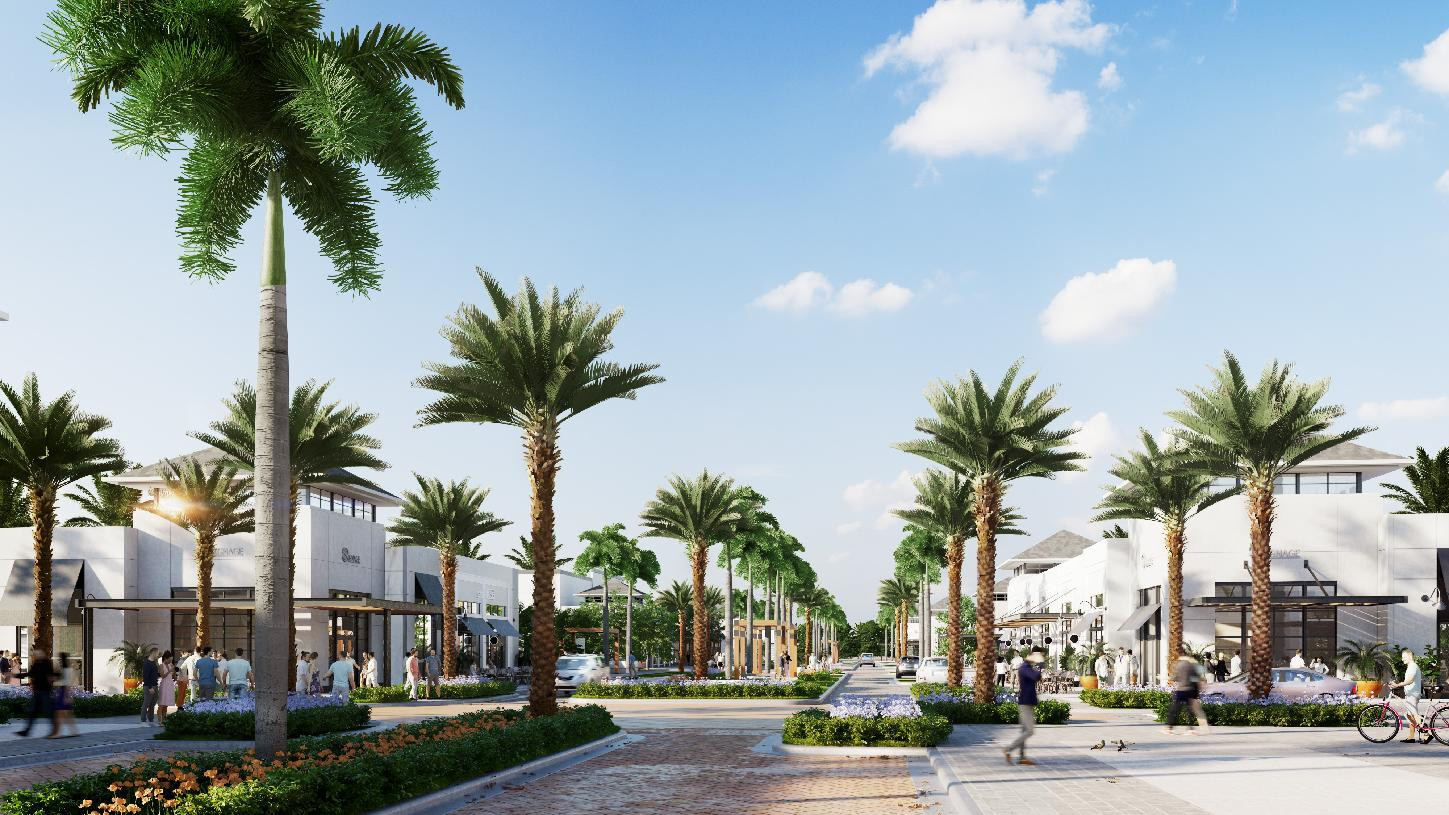 Residents will enjoy shopping and dining within Avenir
