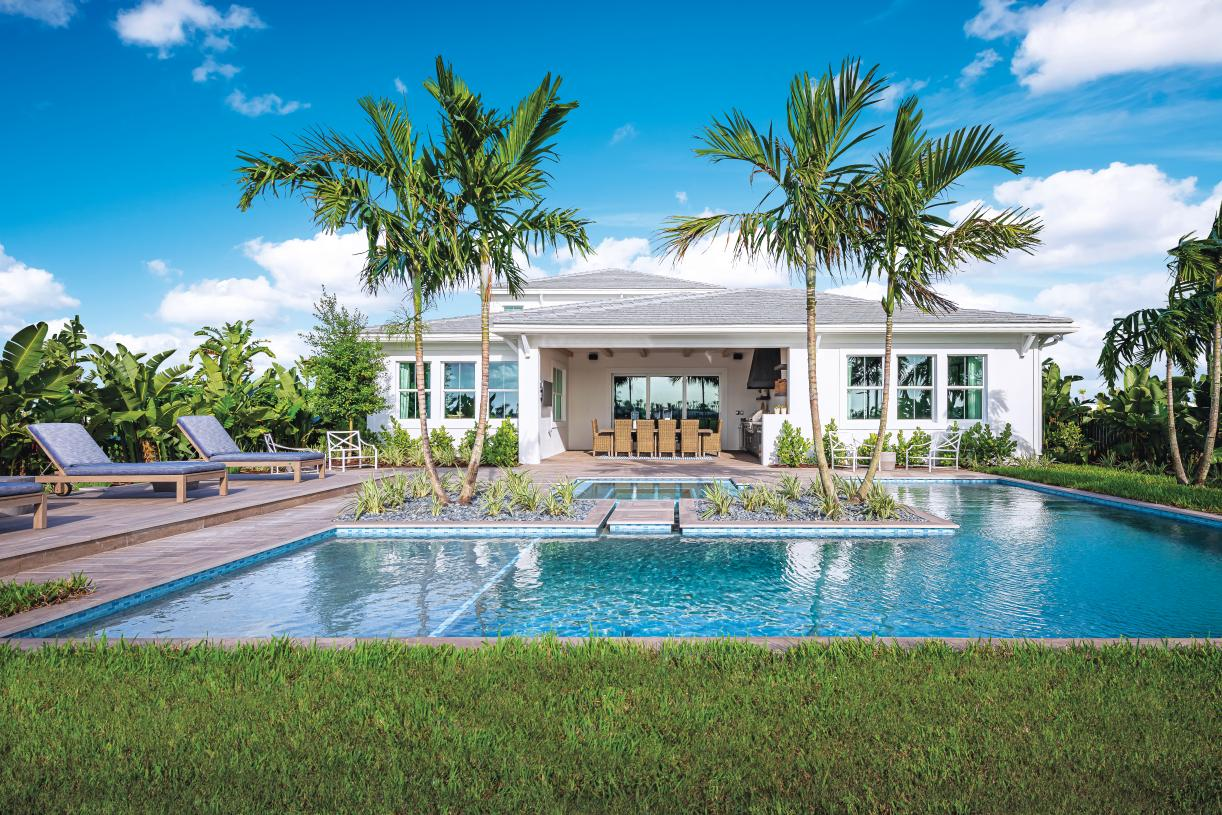 Enjoy the spectacular Florida weather year-round on your covered lanai
