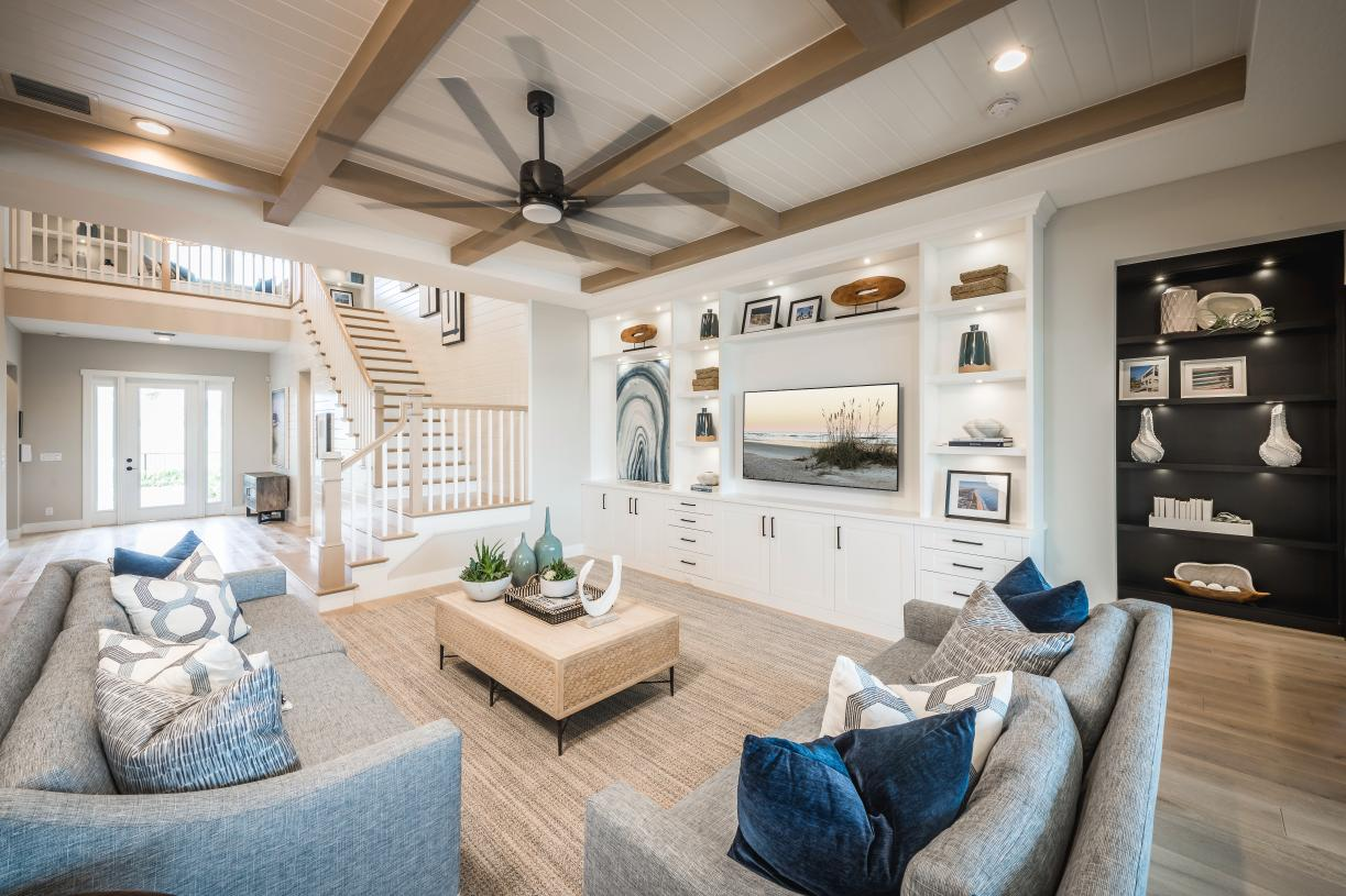 Open floor plans with spacious great rooms