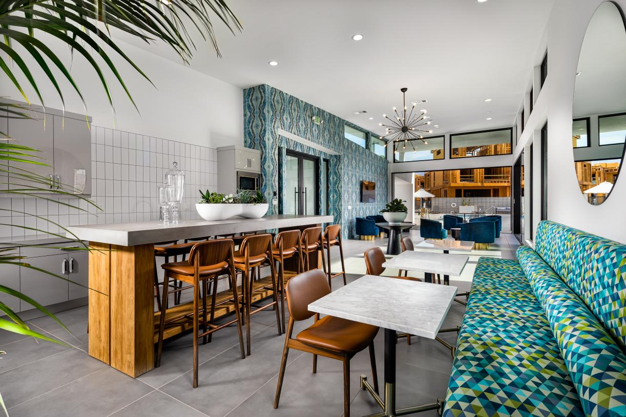 Clubhouse for homeowners to enjoy