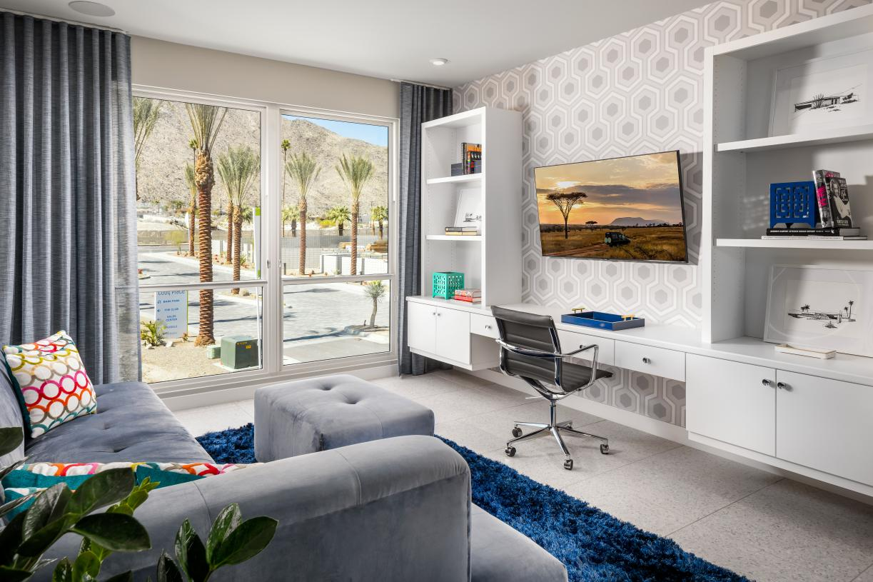 Floor plans with loft spaces