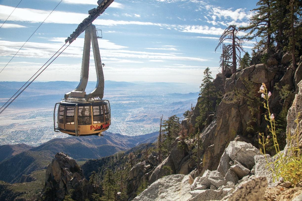 Take a sky view tour of Palm Springs