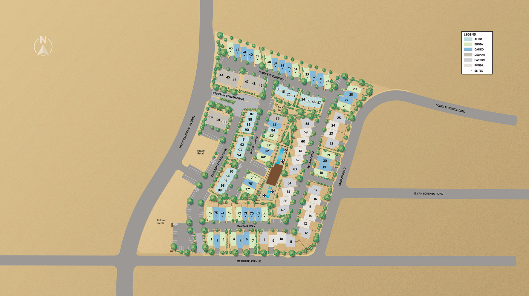 Cody Place Site Plan