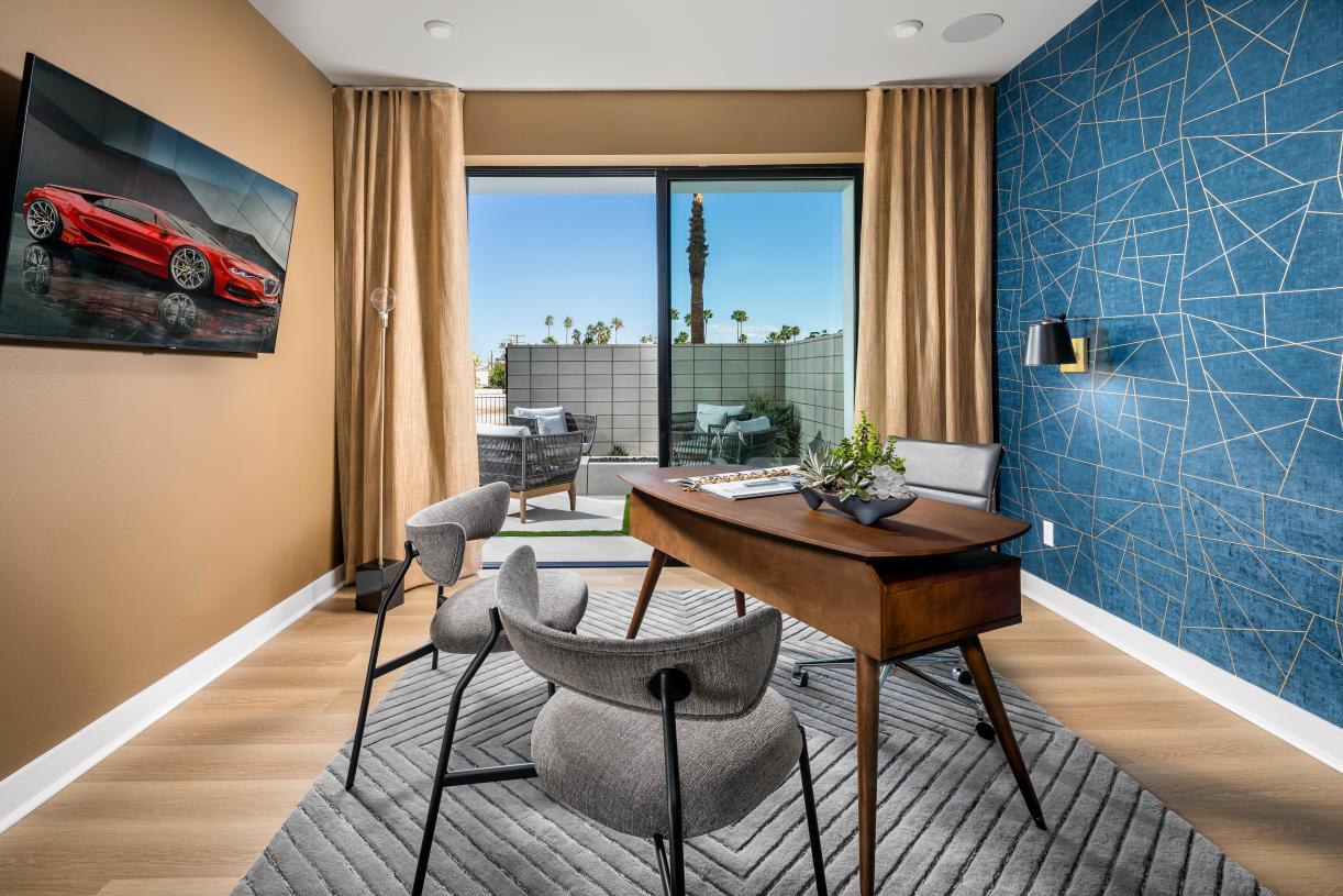 First-floor bedroom option