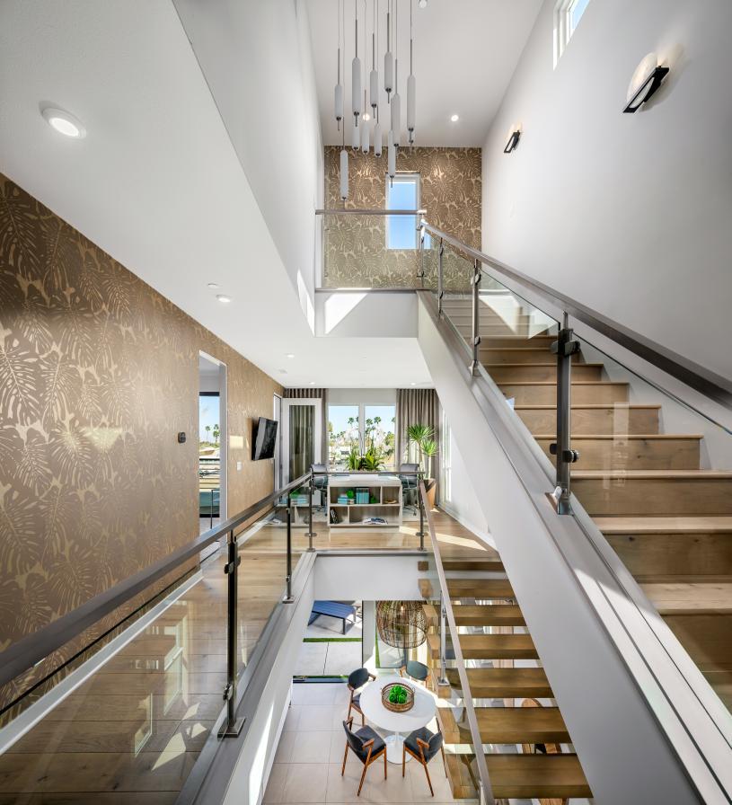 Spacious 3-story floor plan