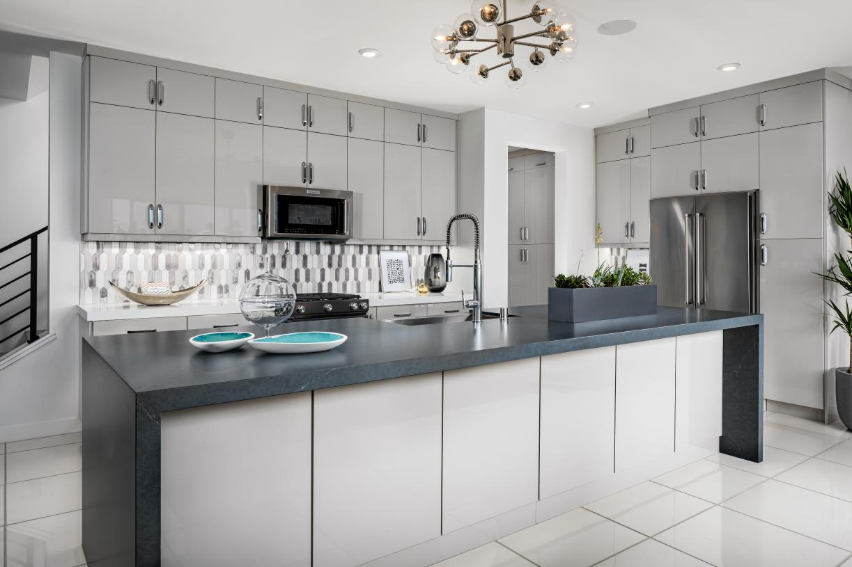 Well-appointed kitchen with island