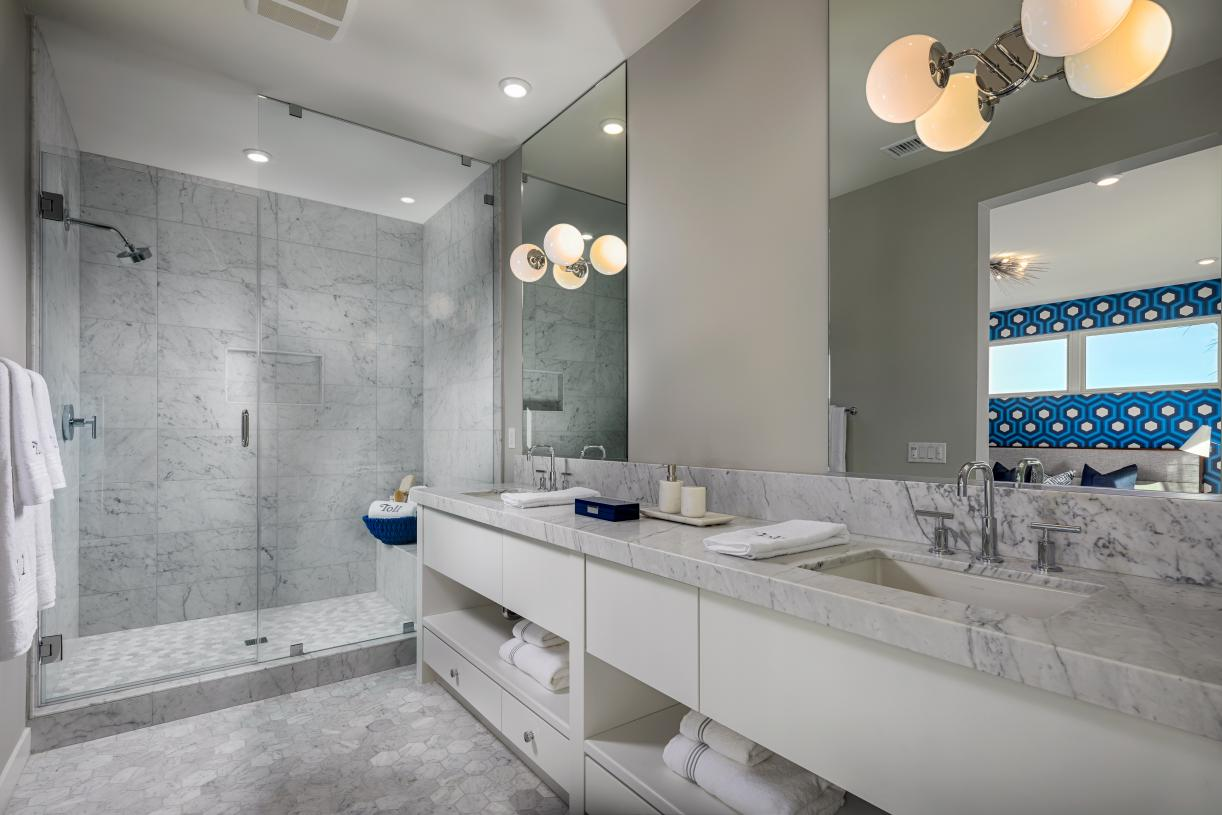 Beautiful primary bathroom