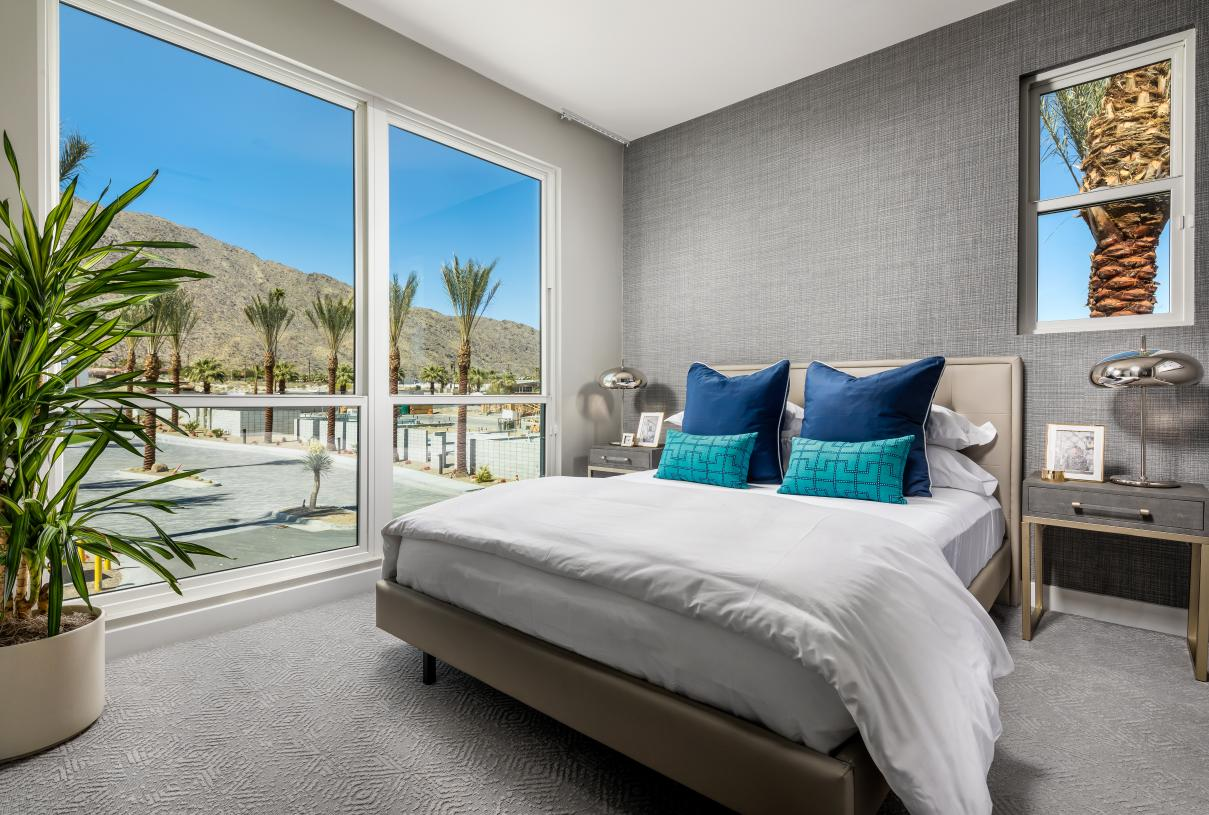 Secondary bedroom perfect for guests