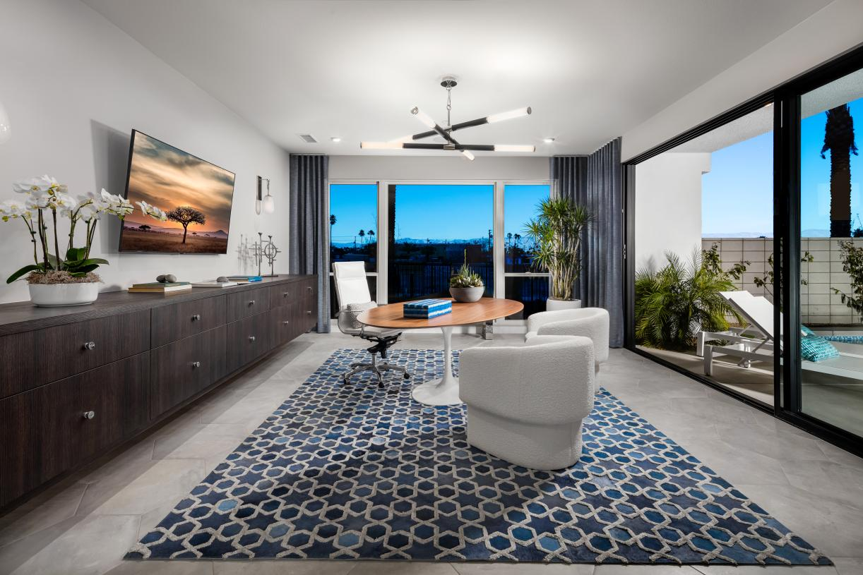 Loft/optional bedroom space