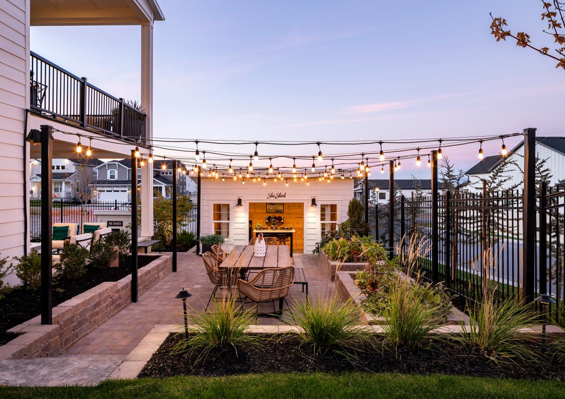Spacious backyards ideal for outdoor living and entertaining