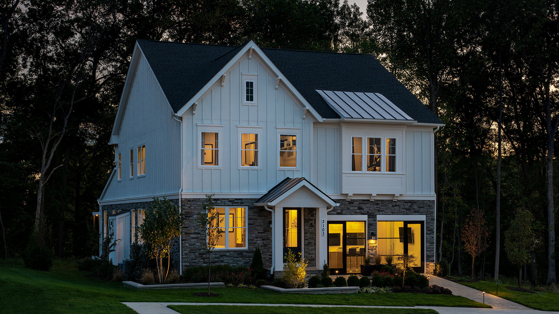 Brand-new exterior designs and architecture