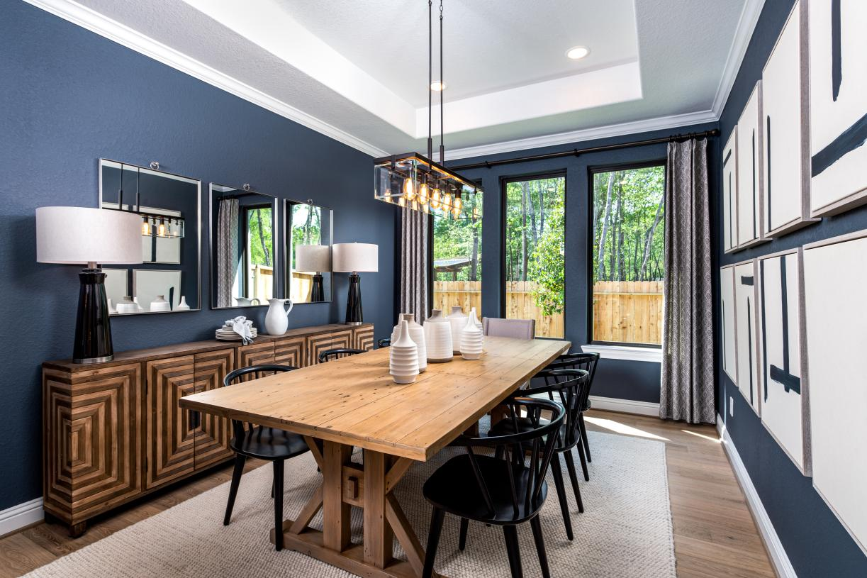 Watson dining room—great for entertaining