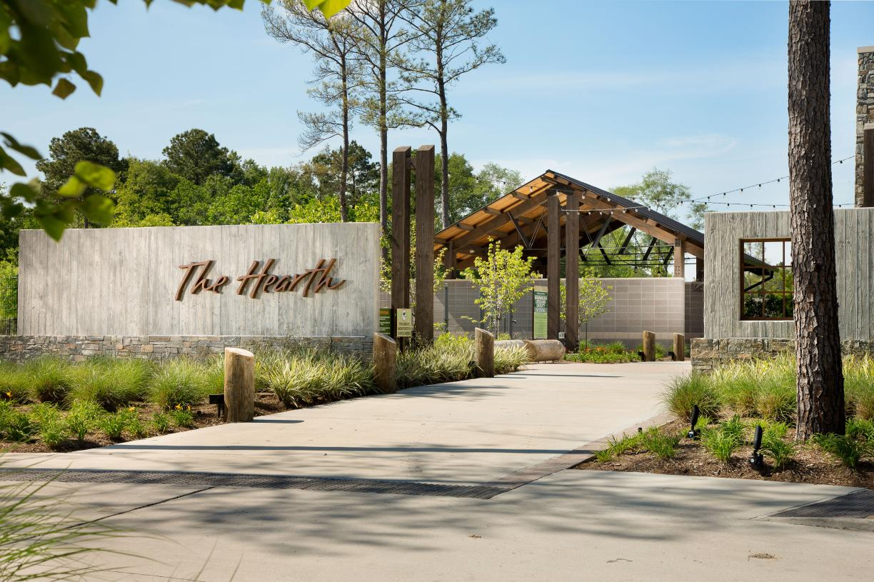 The welcoming Hearth amenity center