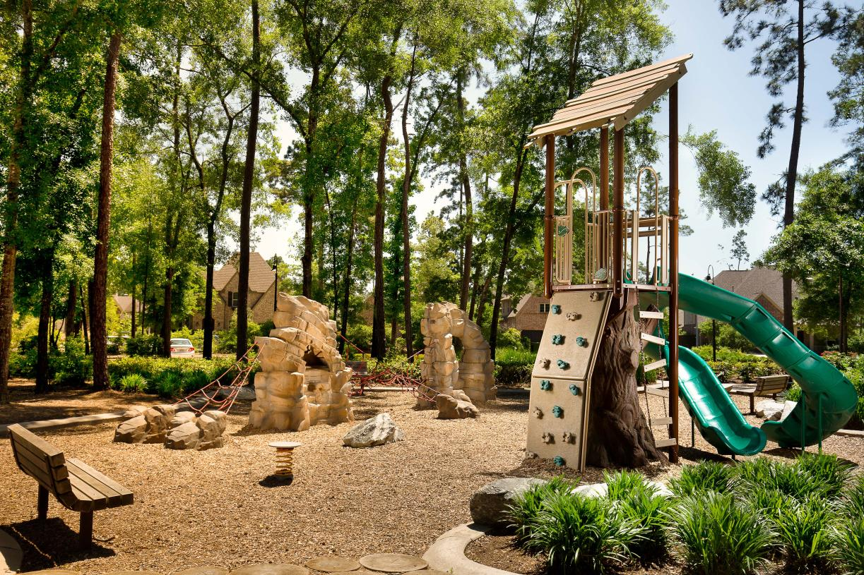 Kids can learn and play outdoors