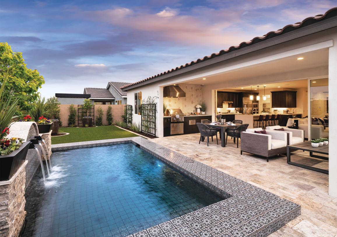 Spacious home sites offer endless indoor/outdoor living options