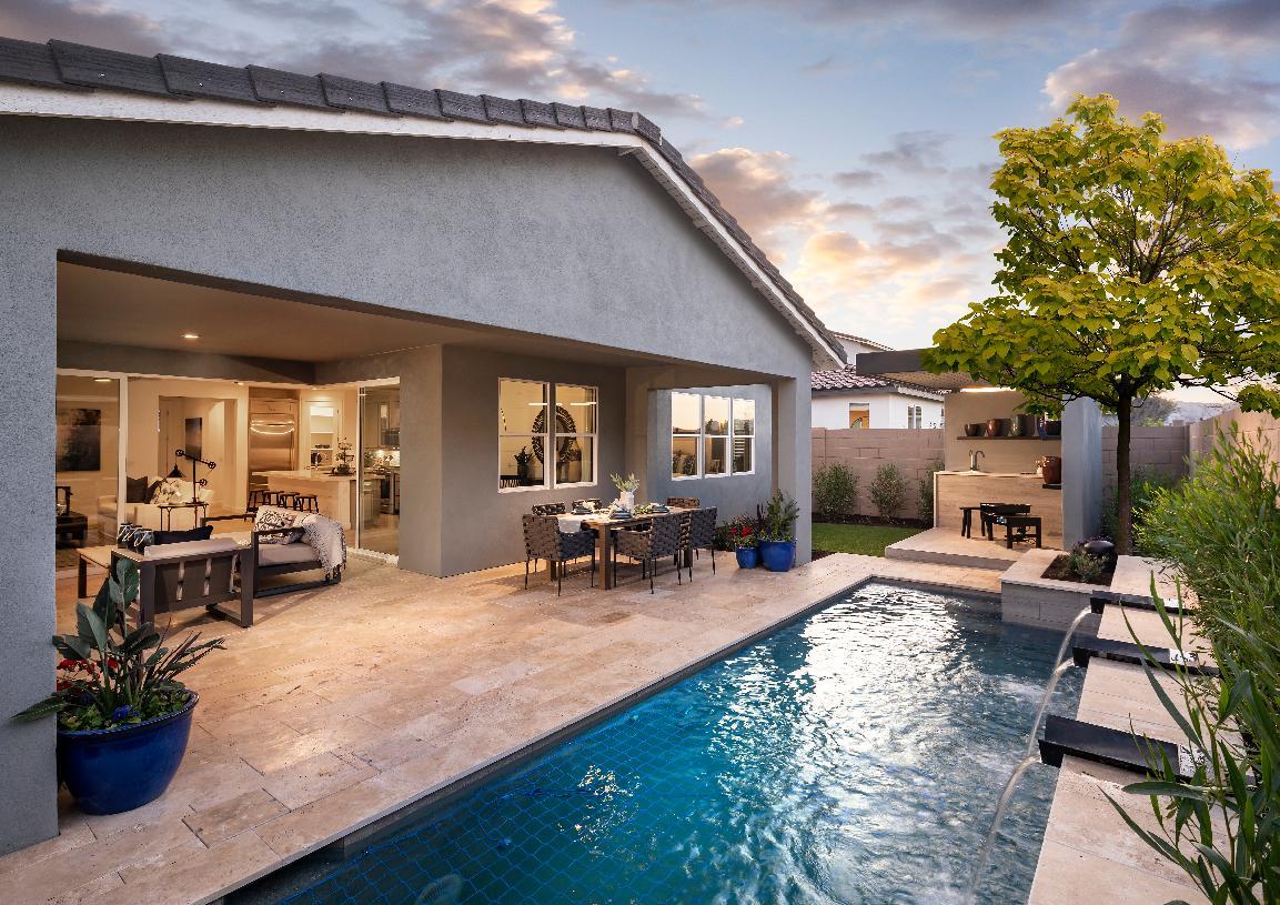 Seamless indoor/outdoor living space