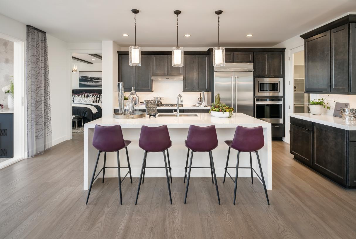 Beautiful kitchens with premium cabinetry, countertops, and appliances