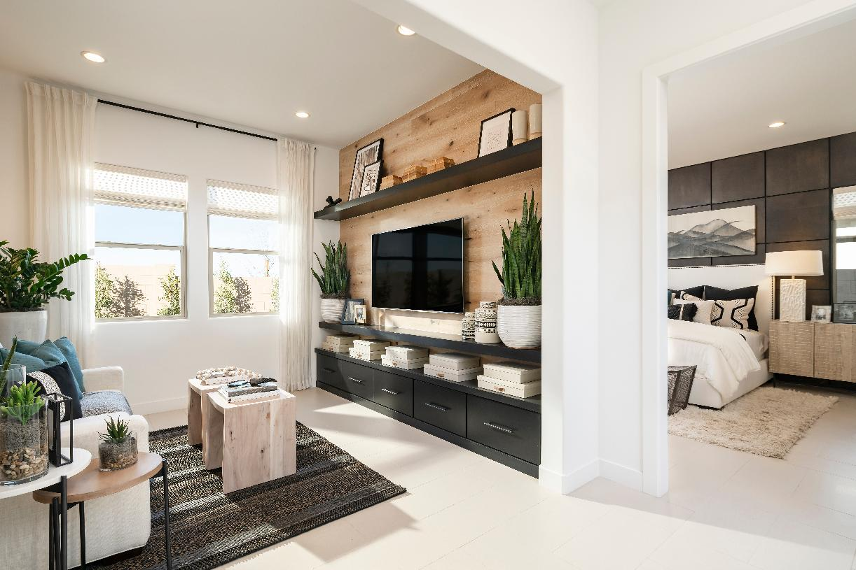 Versatile floor plans offer great space for flex rooms or home offices