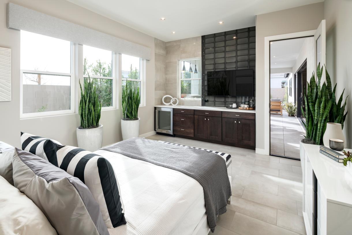 Spacious multi-gen suites offer a private retreat