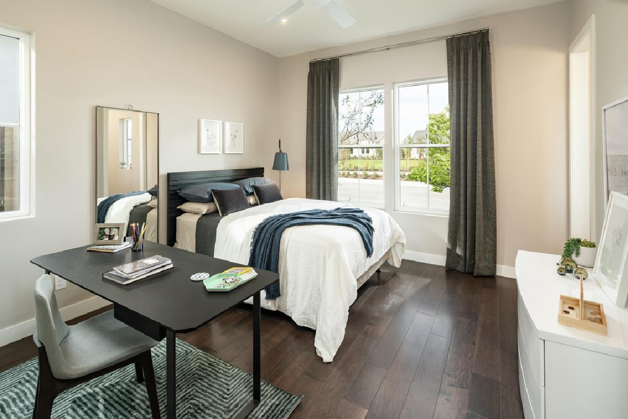 Roomy secondary bedroom with private bathroom