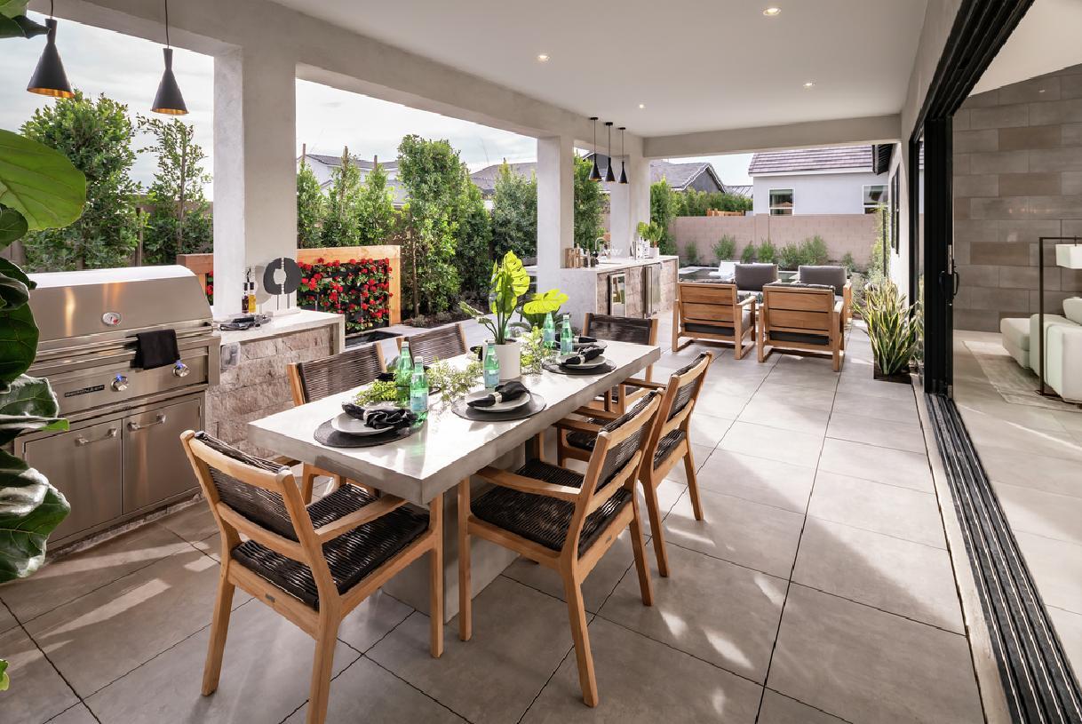 Seamless indoor to outdoor living space