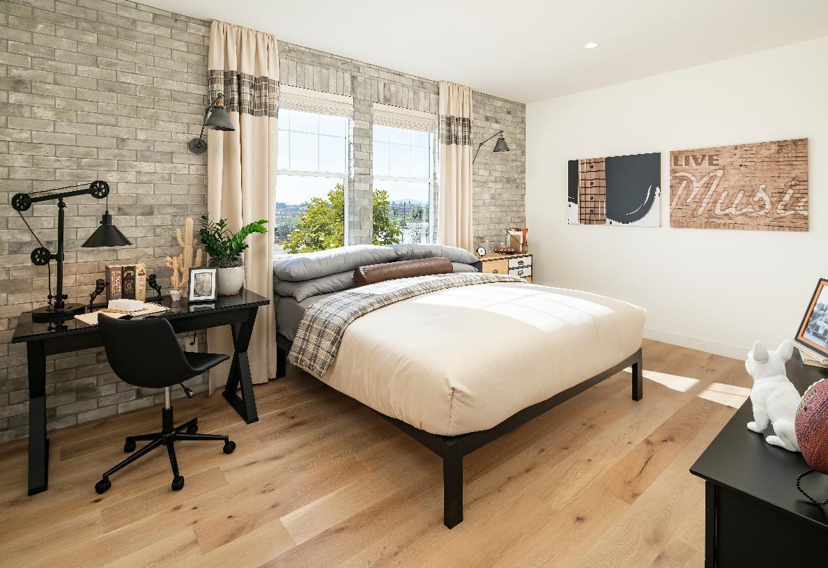Upstairs bedroom located near generous bonus room