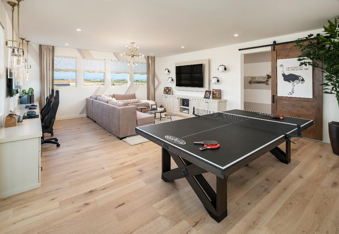 Versatile Flex Room with space for entertaining