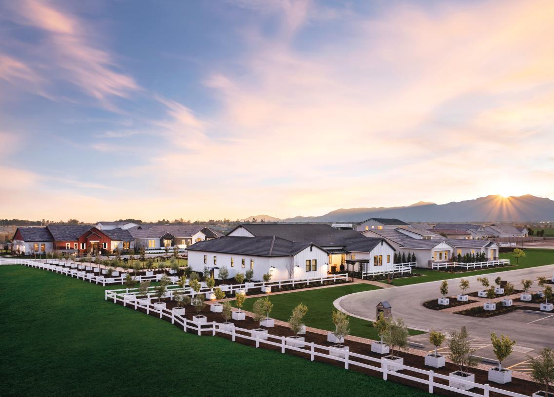 Award-winning master plan community with beautiful mountain views
