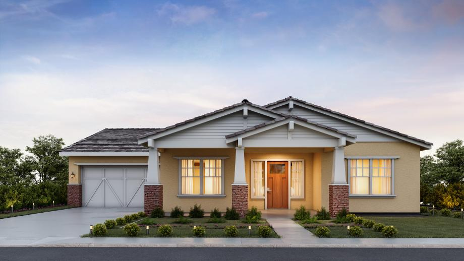 Toll Brothers - St Helena Craftsman Photo