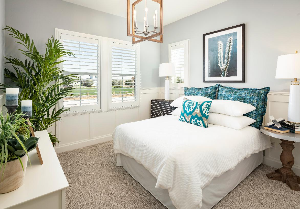 Sizeable secondary bedroom with ample natural light