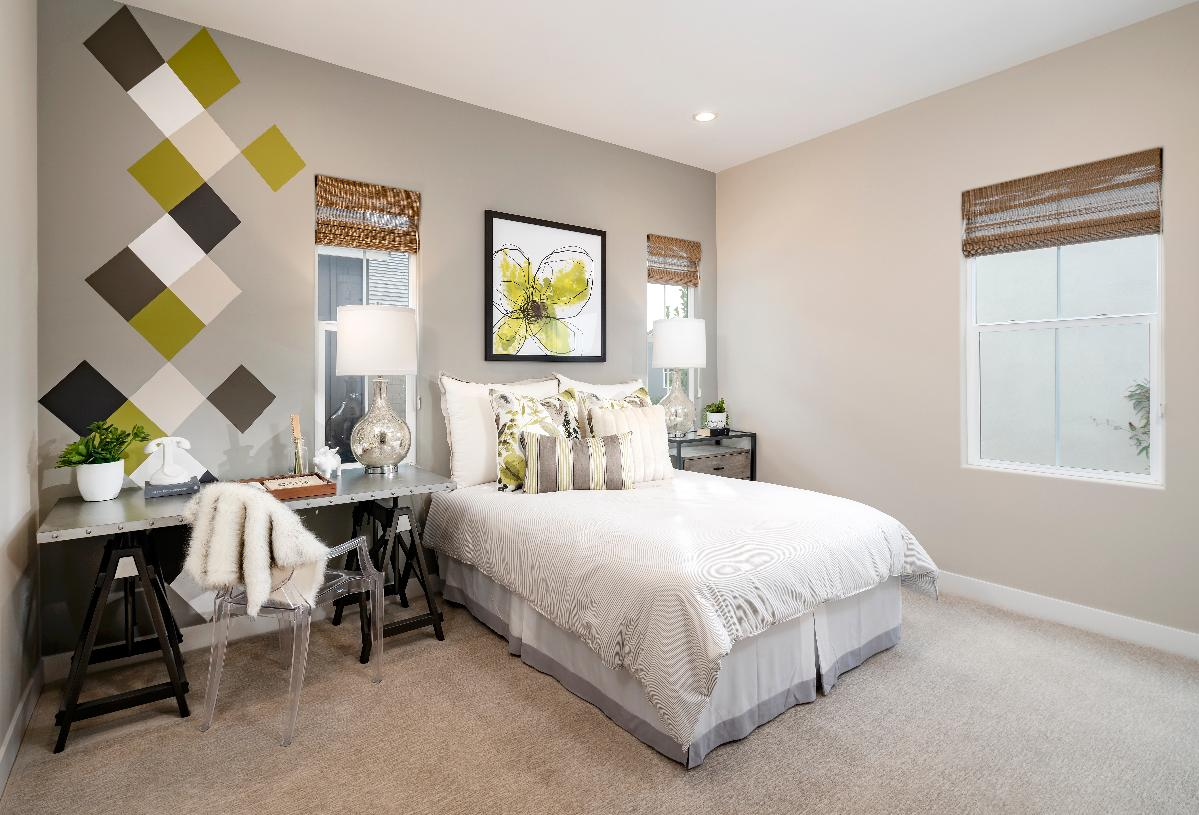 Spacious secondary bedroom with private bath