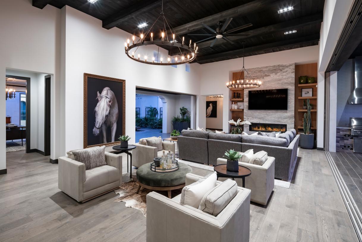 Hastings open-concept great room