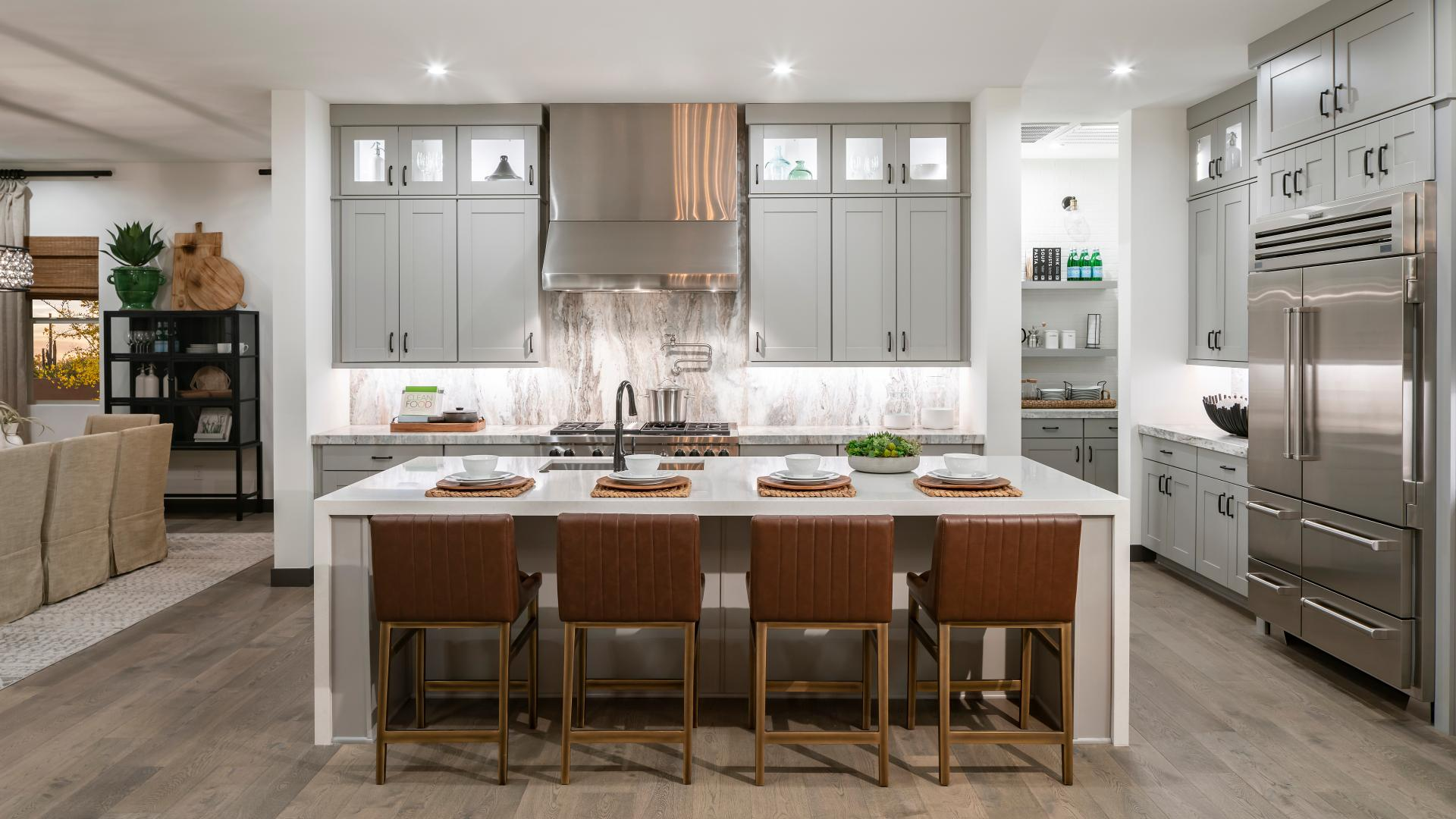 Hastings beautiful kitchen with large center island
