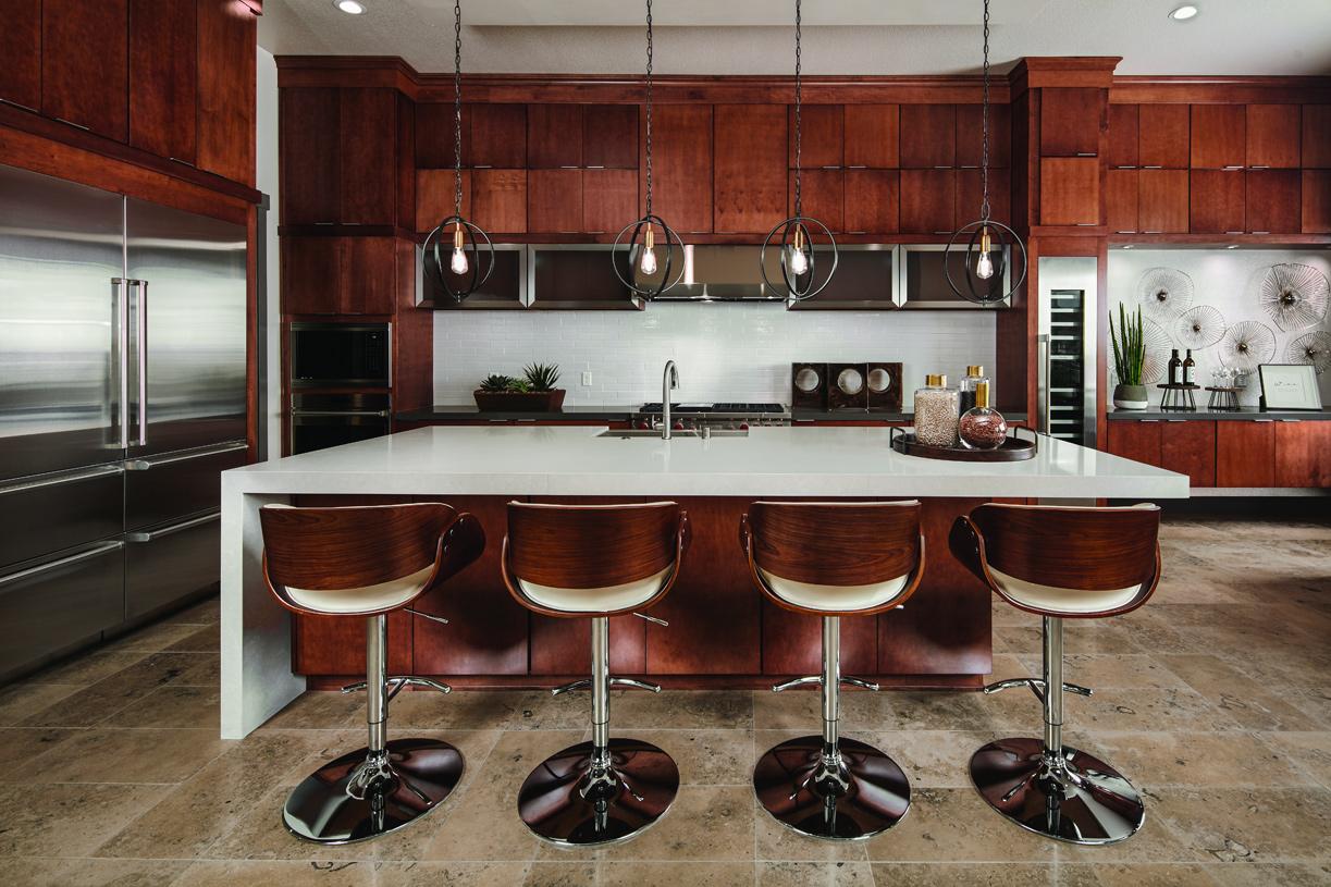 Baldwin kitchen with large center island