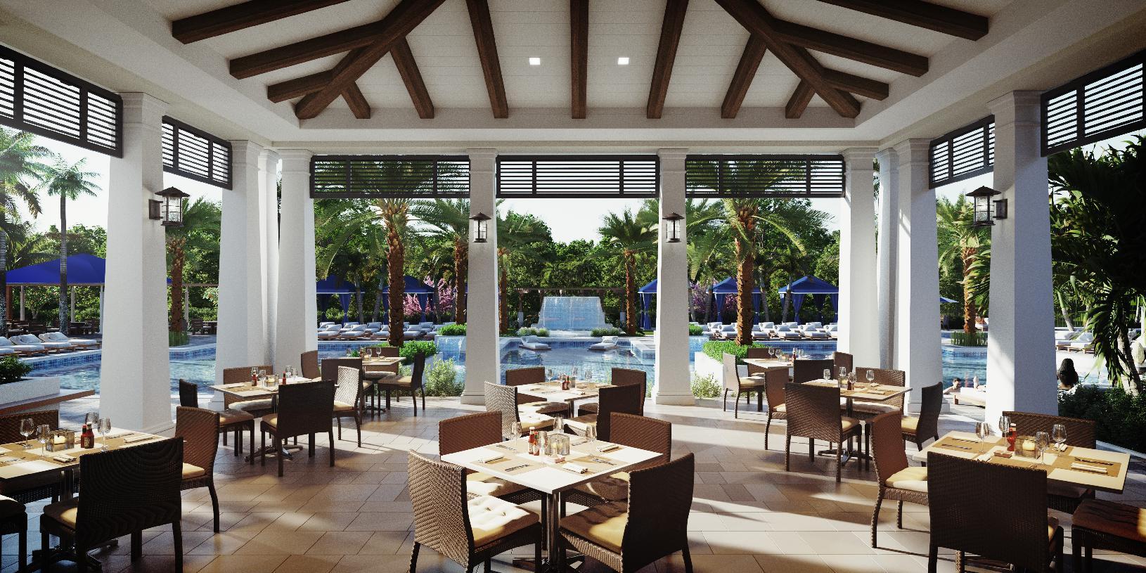 Enjoy outdoor dining at Avenir's future cafe