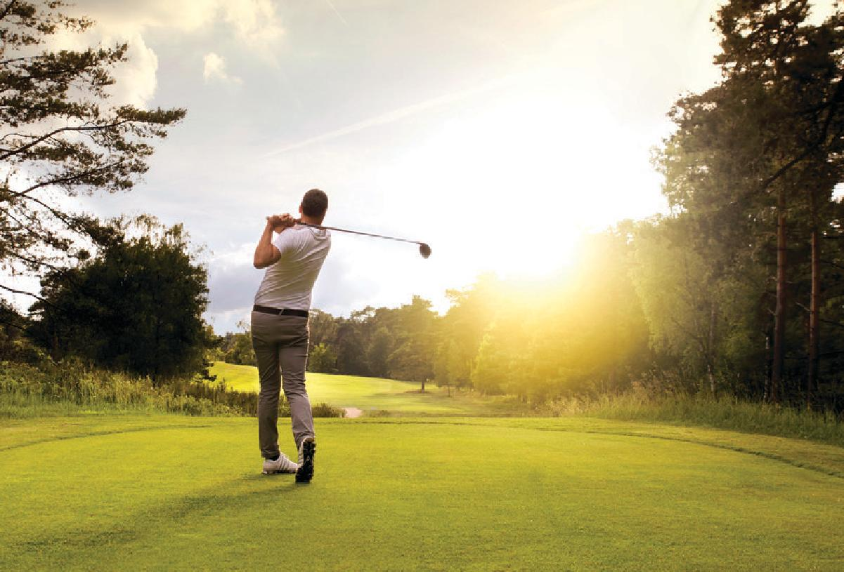 Several first-rate private and semiprivate golf clubs nearby