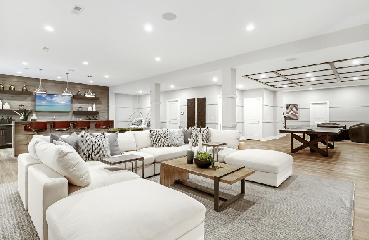 Full basements with the option to finish for the ultimate in entertaining space