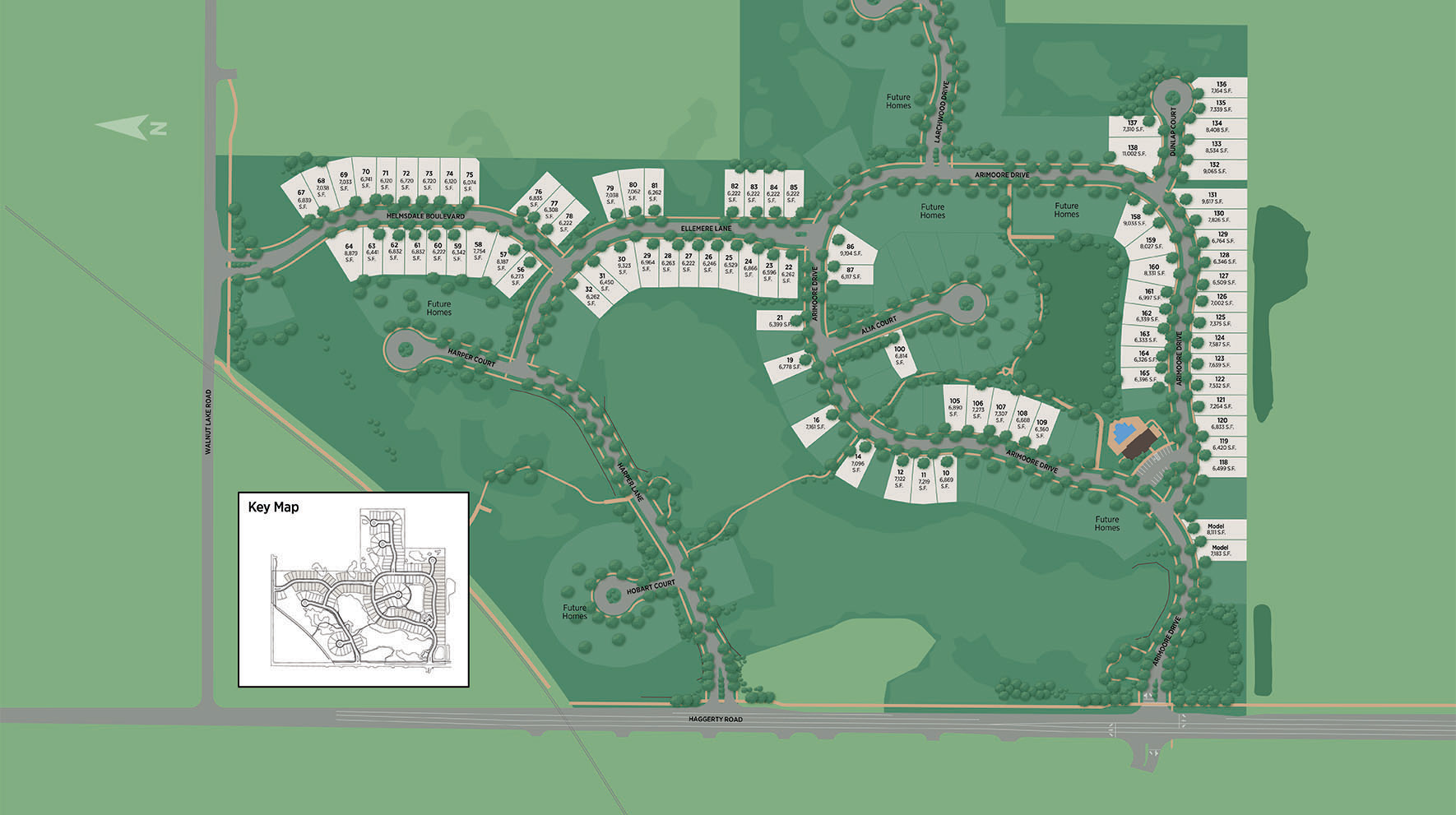 Reserve at West Bloomfield Site Plan