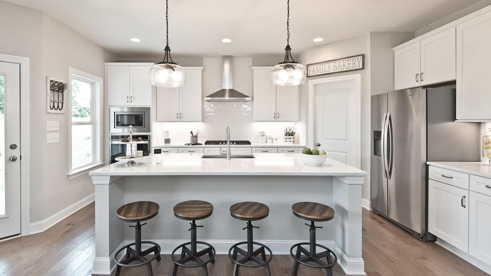 Enjoy the expansive open gourmet kitchen
