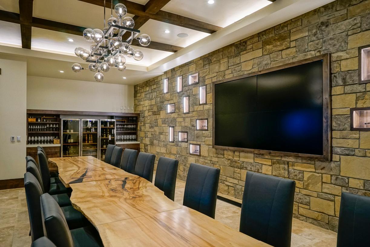 TPC Colorado clubhouse wine room