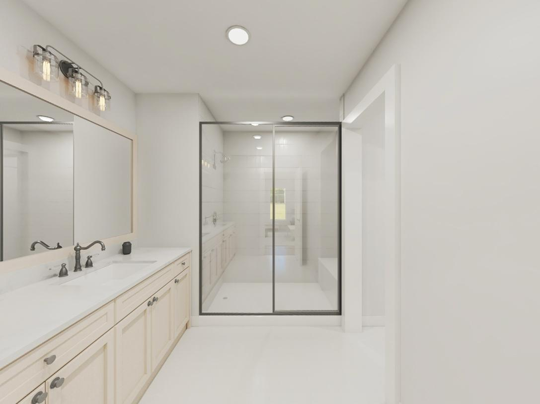 Eldon primary bathroom