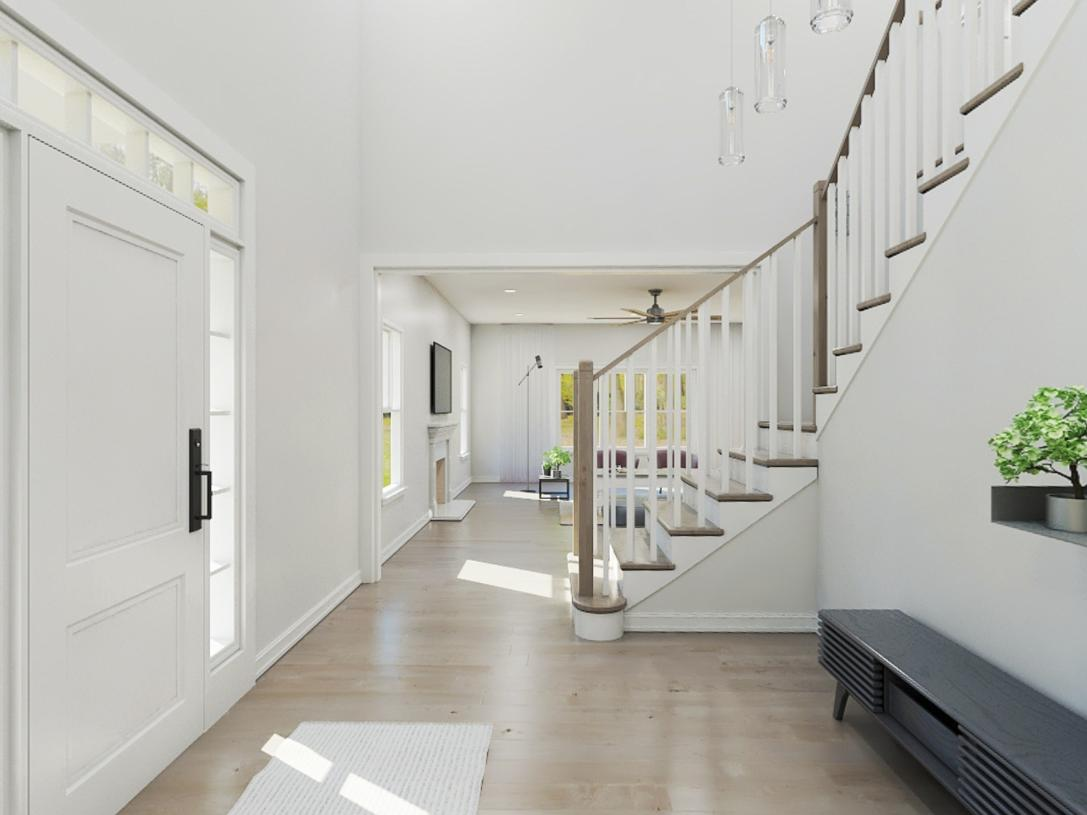 Leyton two-story foyer
