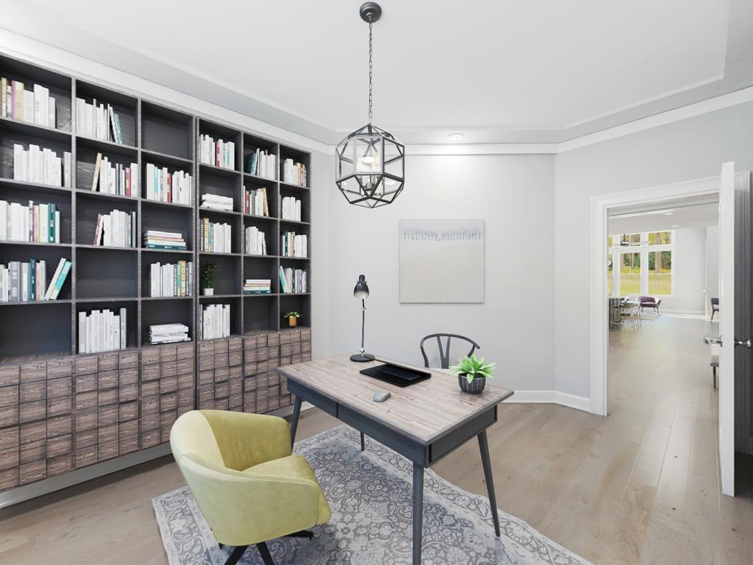 Amberley first floor study or flex space