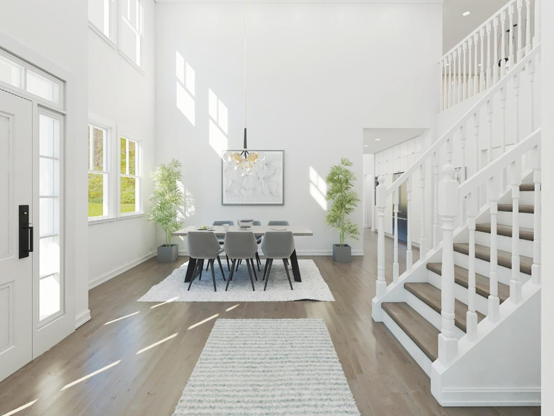 Bexley two-story foyer