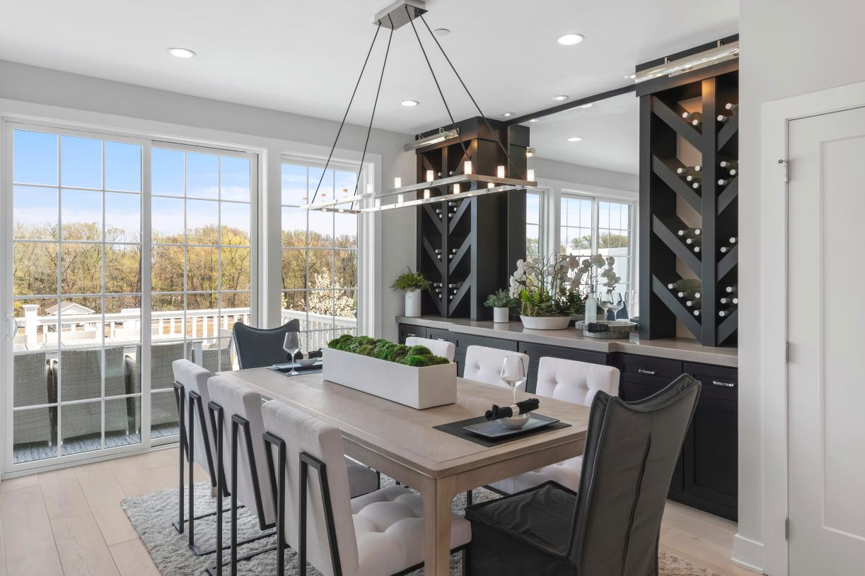 Exquisite details for dining in style in the Briercliff