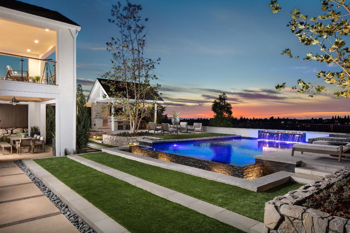 Spacious backyards with views