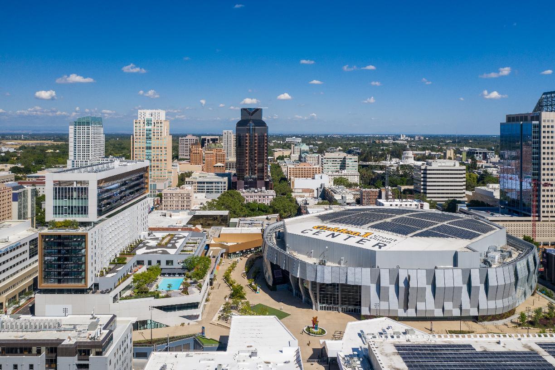 Sports Arena Downtown Sacramento